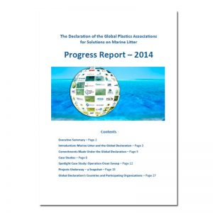 declaration-of-the-global-plastics-associations-for-solutions-on-marine-litter-progress-report-2014